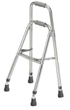Side Style Hemi One Arm Walker, Chrome , Adult  Size