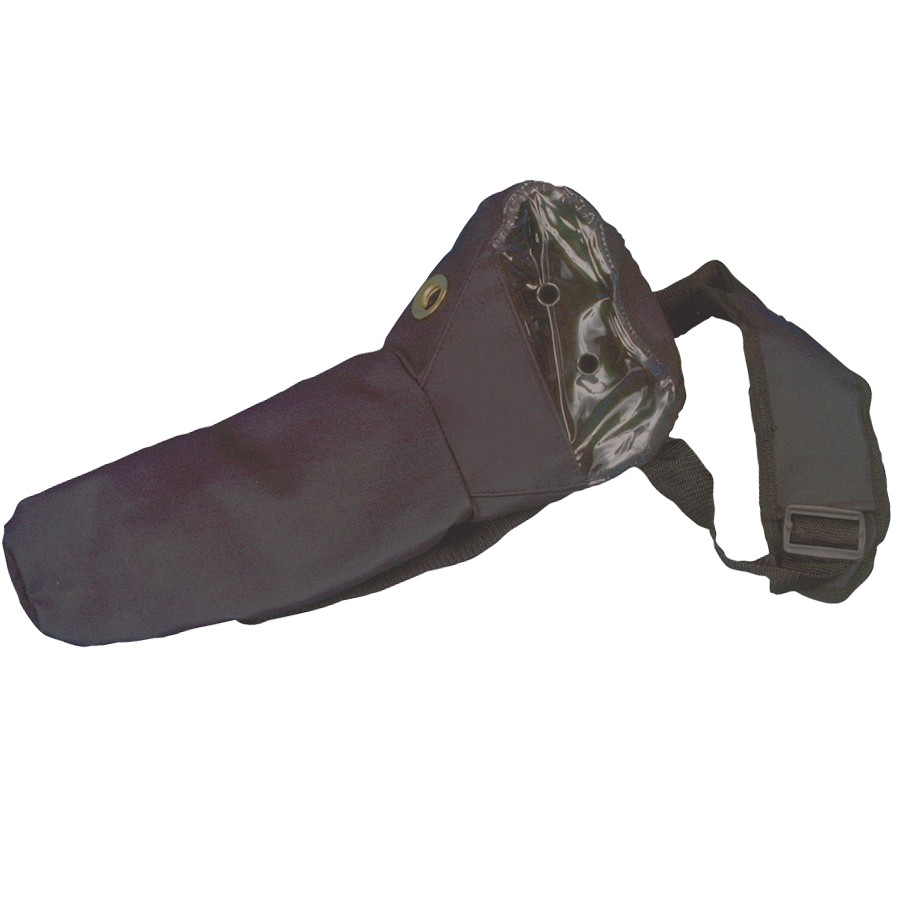 Oxygen Cylinder Carry Bag, Black , M6 Size