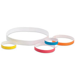 "ID BANDS,YELLOW,10""x1"",500/CS"