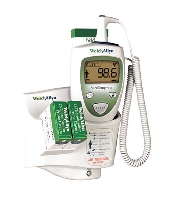 THERMOMETER, ELEC, SURETEMP PLUS RECTAL, 4FT CRD, EA
