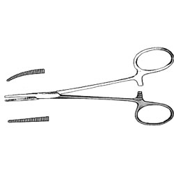 """FORCEPS,MOSQUITO,CURVED,5-5.5"""""""