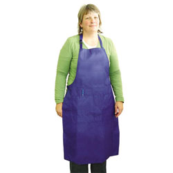 APRON,ALL-PURPOSE APRON-LARGE-BLUE