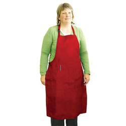 APRON,ALL-PURPOSE APRON-XL-RED