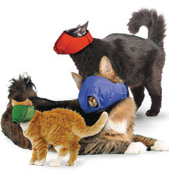 MUZZLES,3- QUICK MUZZLE SET FOR CATS