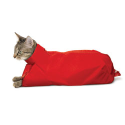 SACK,CAT,MEDIUM CAT SACK- RED