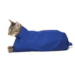 SACK,CAT,EXTRA LARGE CAT SACK - ROYAL BLUE
