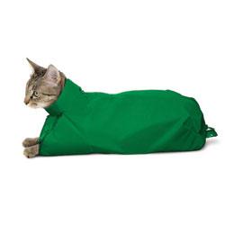 SACK,CAT,EXTRA LARGE CAT SACK - GREEN