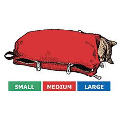 SACK,CAT,3-CAT SACK SET WITH FULL ZIP (S,M,L)