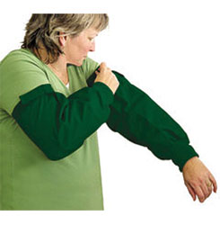 GROOMING SLEEVES - GREEN - ONE SIZE FITS ALL