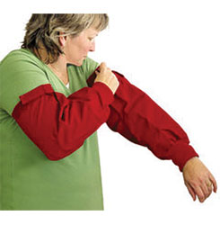 GROOMING SLEEVE - RED - ONE SIZE FITS ALL