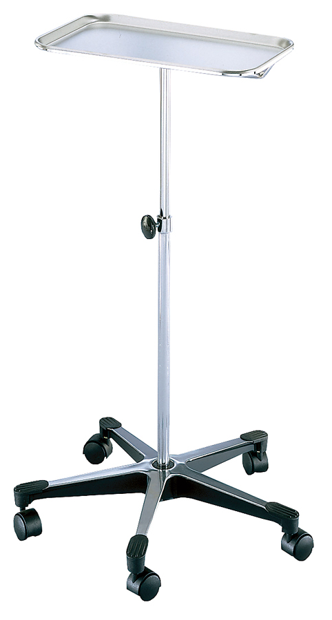 STAND,MAYO,INSTRUMENT,CHROME,5 LEG,EA