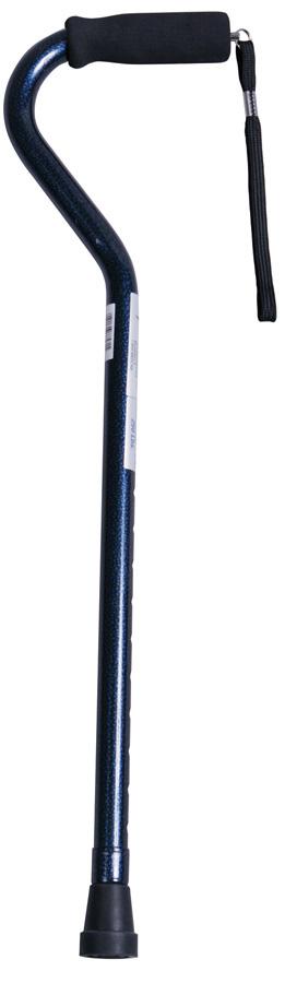CANE,OFFSET,PURPLE,ALUMINUM,6 EA/CS