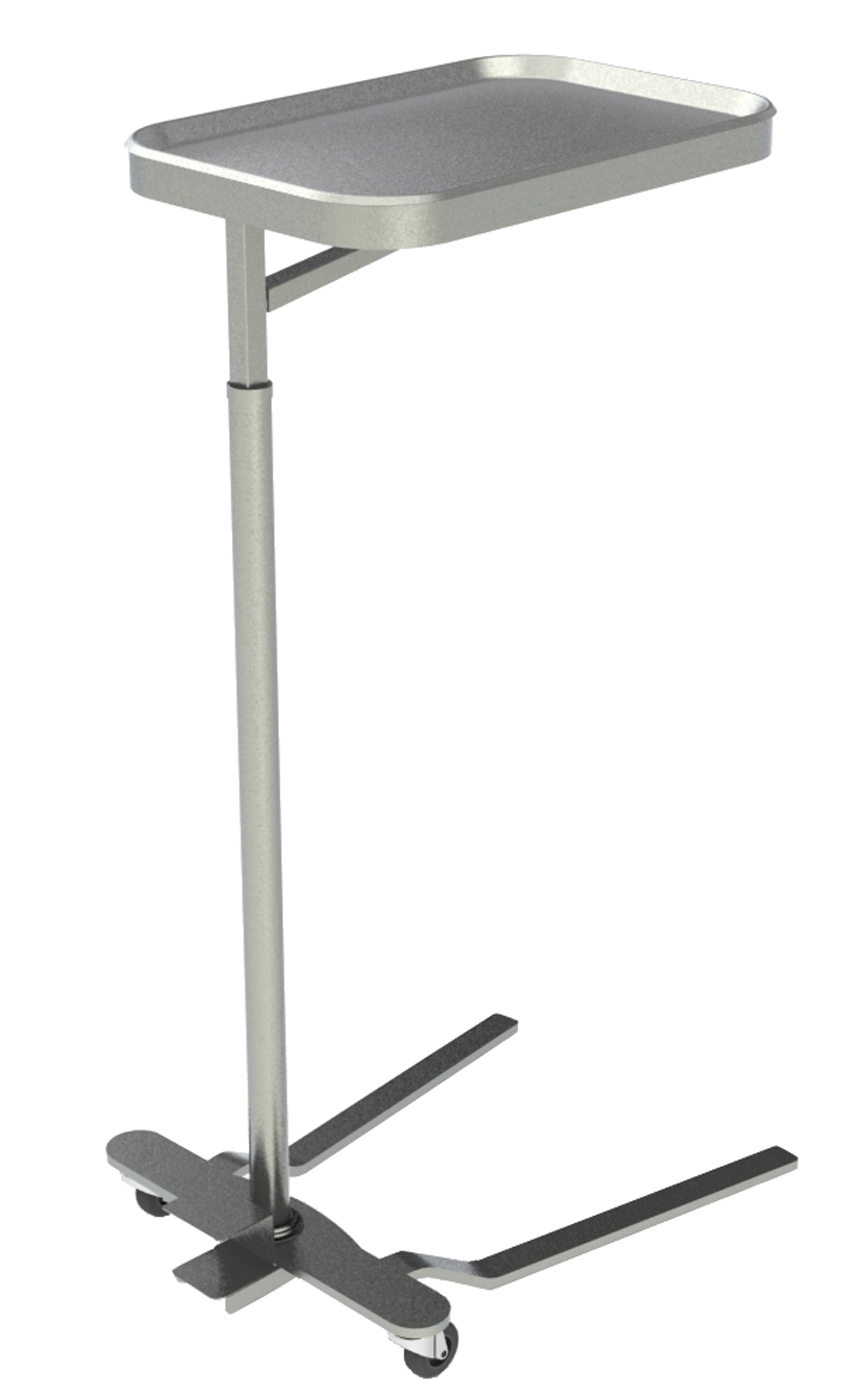 "STAND,MAYO,SS,16""X21"",FOOT OPERATED,(831,EA"