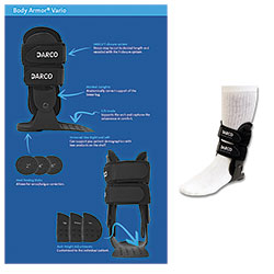 BRACE,ANKLE,BODY ARMOR VARIO,DARCO,RIGHT,REGULAR
