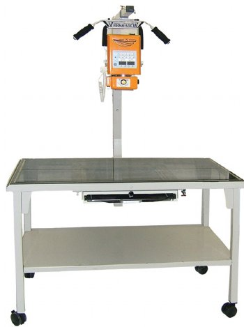 TABLE, EXAM,MOBILE X-RAY W POLY TOP,VERSA VIEW