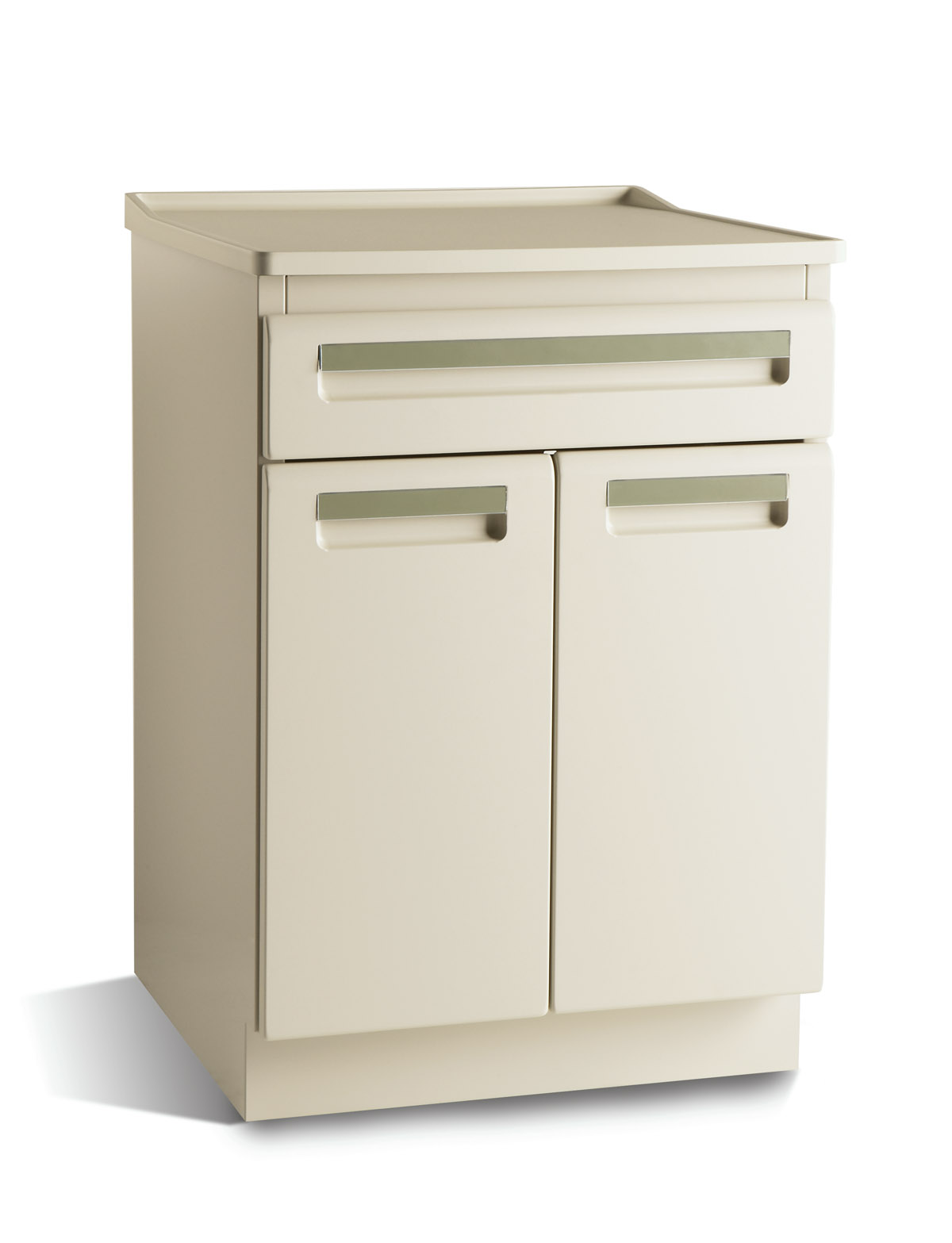 CABINET, TREATMENT, MIDMARK 6060, W/SHELF, SHARK GREY