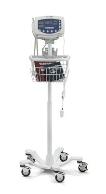 STAND, MOBILE, W/BASKET, EA