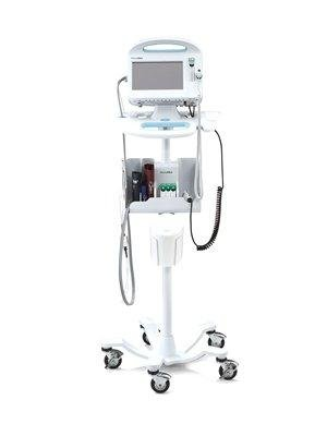 STAND, MOBILE, VITAL SIGNS, W/CABLE MGMT STORAGE SYSTEM, EA