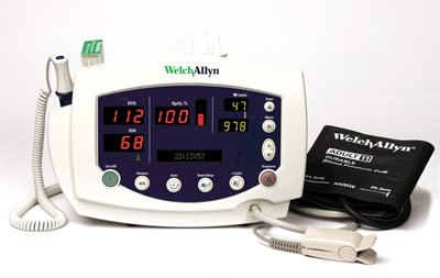 VITAL SIGNS SET, MONITOR NIBP, SURETEMP THEMOMETRY PRINTER, EA