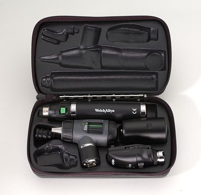OTOSCOPE SET, OPHTHAL, 3.5V DELUXE HAL, EA