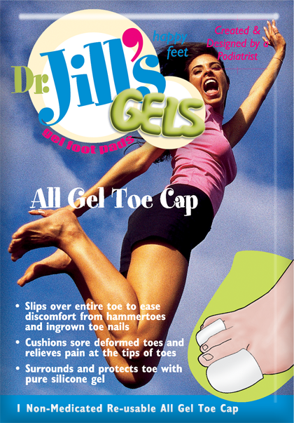 TOE CAP,GEL,DR JILLS,MEDIUM,1/BOX