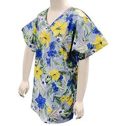 TUNIC, DAY LILLY, CROSSOVER, WOMEN'S, 3X-LARGE