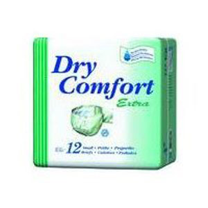 BRIEFS,DRY COMFORT EXTRA,ADULT,SMALL,BULK,12.PACK